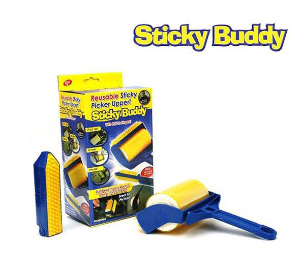 Cây lăn bụi Sticky Buddy tiện dụng
