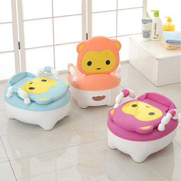 Ghế bô vệ sinh đáng yêu cho bé