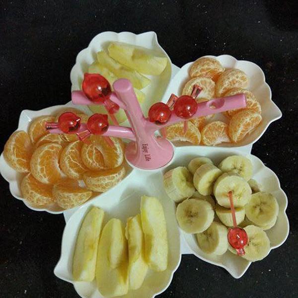Khay đựng hoa quả kèm dĩa Enjoy Life