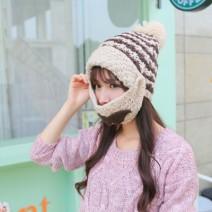 Set mũ len kèm khẩu trang cho bạn gái