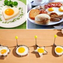 Bộ 4 khuôn chiên trứng làm bánh tạo hình