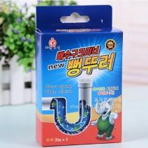 Bột thông ống Hàn Quốc 3x30g
