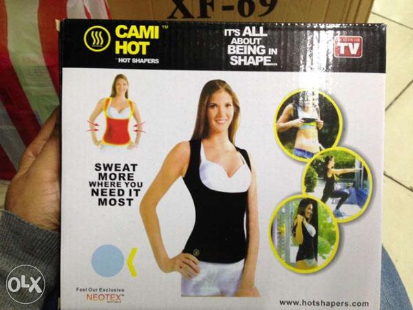 Bán sỉ áo sinh nhiệt giảm mỡ CAMI HOT