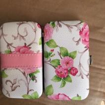 Bộ bấm móng tay 7 món họa tiết hoa cực đẹp