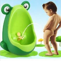 Bô tiểu mini gắn tường cho bé trai hình chú ếch