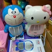 Đèn bắt muỗi Magic Home hình Doremon - Hello Kitty