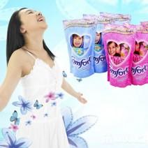Thùng 24 bịch nước xả vải Comfort Thái 600ml