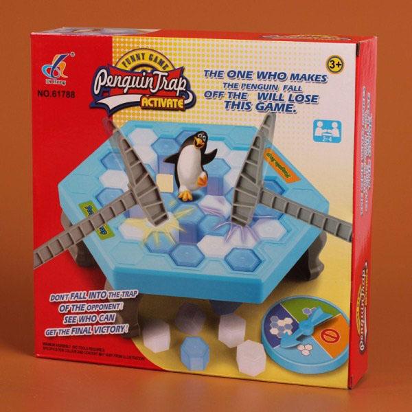Trò chơi bẫy chim cánh cụt Penguin Trap cho bé