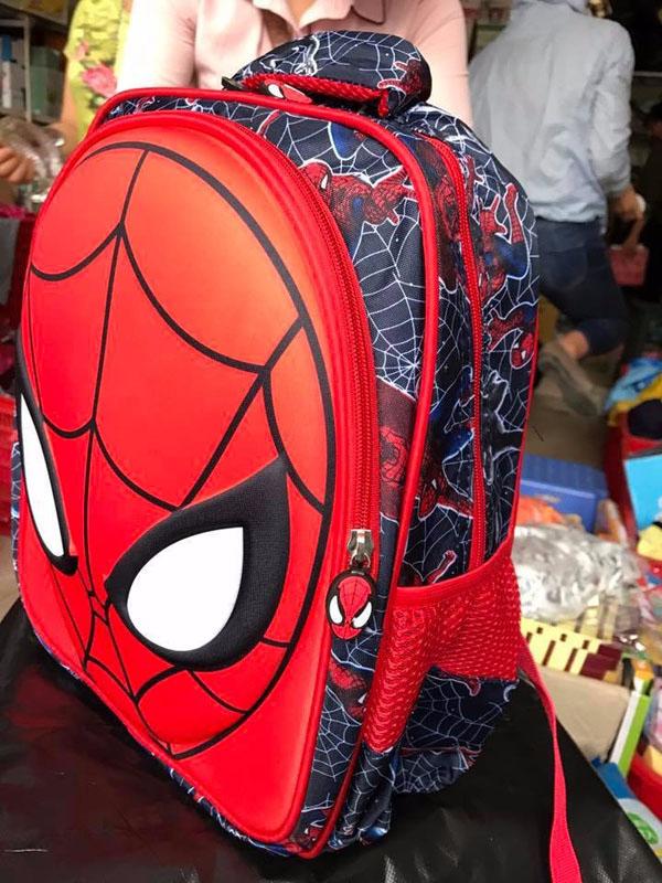 Bán sỉ ba lô người nhện Spider Man cho bé