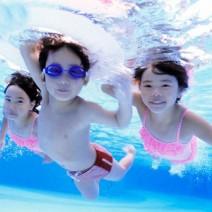 Kính bơi trong suốt Balance F-268 cho bé