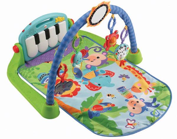 Thảm nằm chơi đàn Piano Fisher Price cho bé