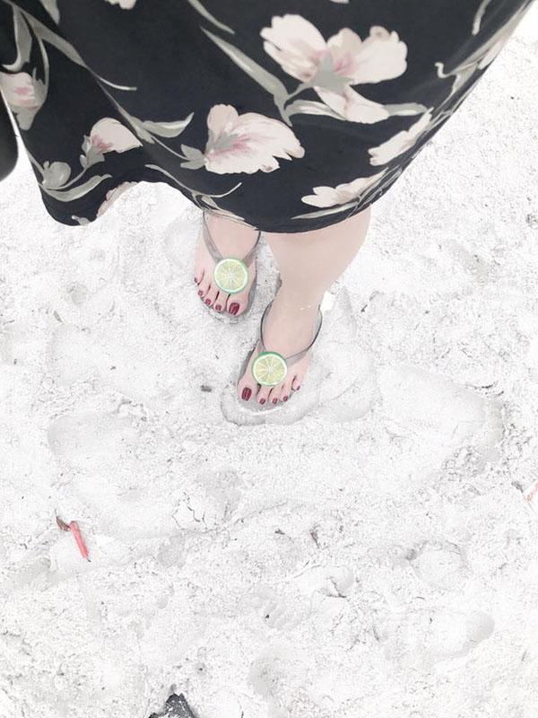 Dép chanh - dép tông đi biển siêu hot