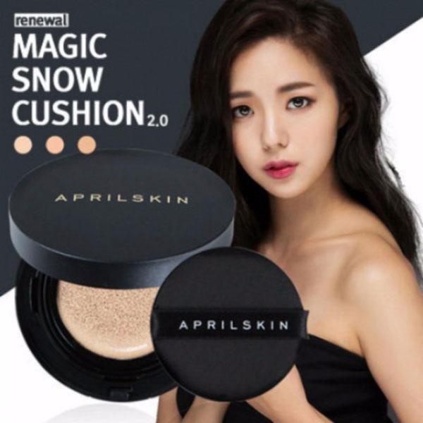 Phấn nước April Skin Black Magic Snow Cushion