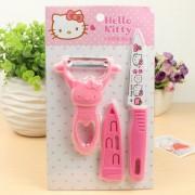 Bộ dao gọt hello kitty 3 món