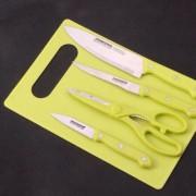 Bộ dao kèm thớt đa năng cho nhà bếp