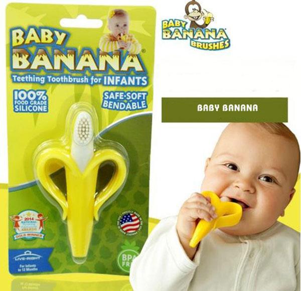 Bán buôn dụng cụ gặm nướu Baby Banana - Mỹ