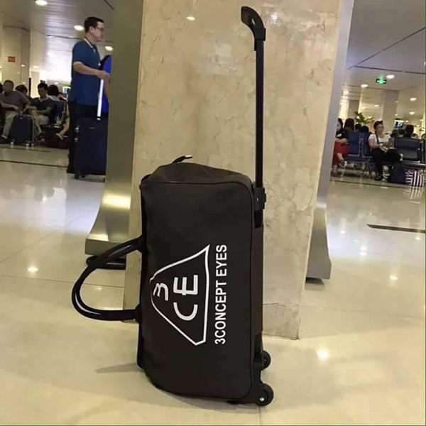 Bán sỉ túi kéo du lịch 3CE cao cấp