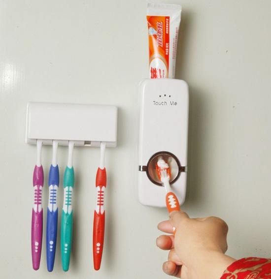 Bán buôn bộ dụng cụ lấy kem đánh răng tự động Touch me