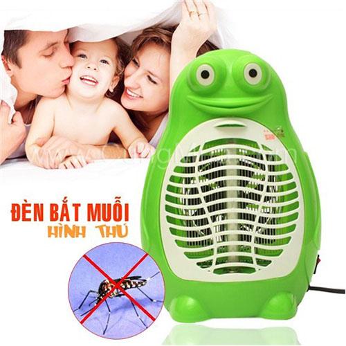 đèn bắt muỗi thông minh có quạt