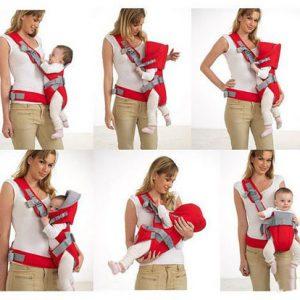 Địu em bé Baby Carrier 6 tư thế