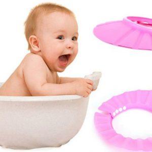 Mũ chắn nước gội đầu cho bé