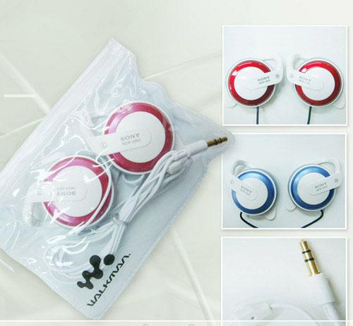 Tai nghe gài tai sony MDR- Q50 là dạng tai nghe móc vành tai với tấm mút đệm tạo cho bạn cảm giác thoải mái