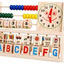 Đồ chơi gỗ giáo dục bảng tính thông minh cho bé