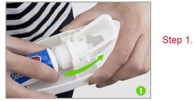 hướng dẫn sử dụng dụng cụ lấy kem đánh răng thông minh ZGT-SKY