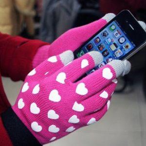Găng tay len cảm ứng Smart Touch ấm áp