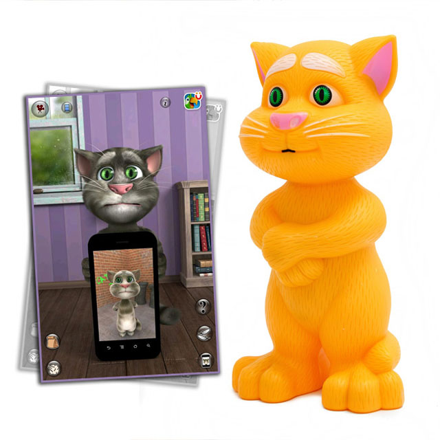 đồ chơi mèo tôm biết nói