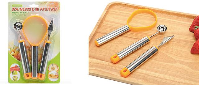 bộ dụng cụ cắt tỉa trái cây bằng inox