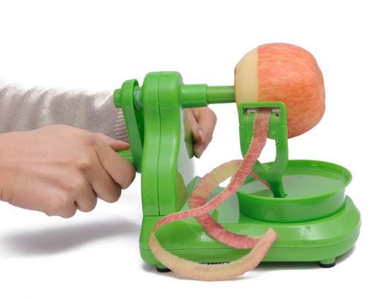 Dụng cụ gọt vỏ táo siêu tốc