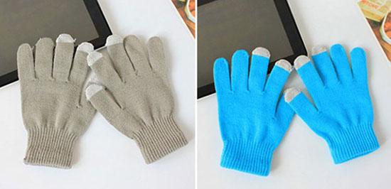 Găng tay len cảm ứng mùa đông