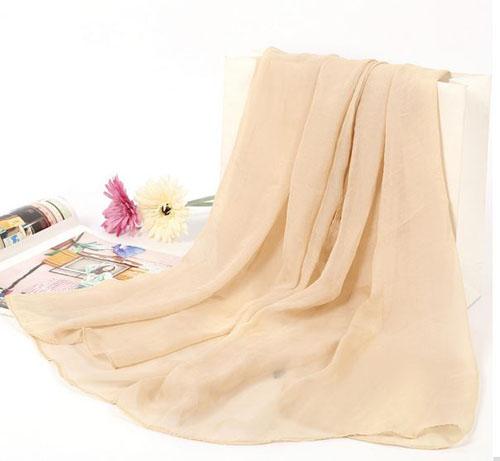 Khăn quàng cổ thời trang vải thô mềm