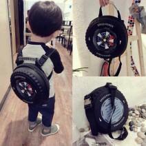 Balo 3d hình bánh xe độc đáo cho bé