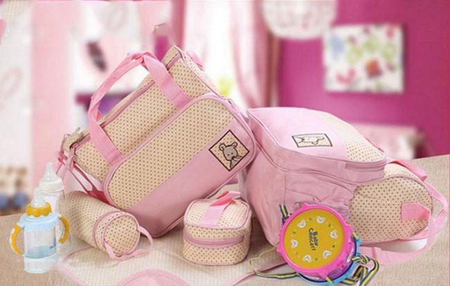 Bán buôn bộ túi 5 chi tiết cho mẹ và bé