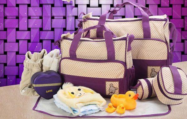Bộ túi 5 chi tiết sành điệu cho mẹ và bé