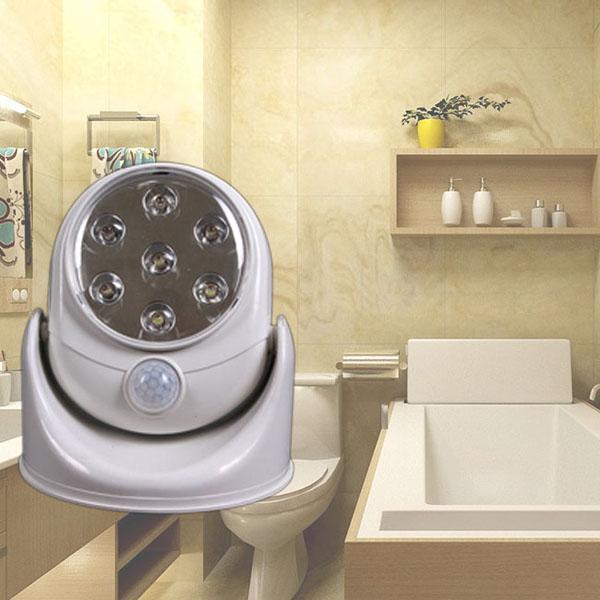 Đèn cảm ứng tiết kiệm điện xoay 360 độ