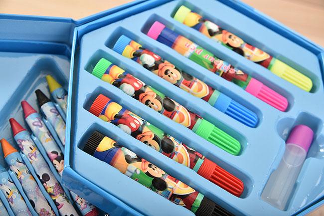Bán sỉ hộp bút chì màu 46 món cho bé tập tô