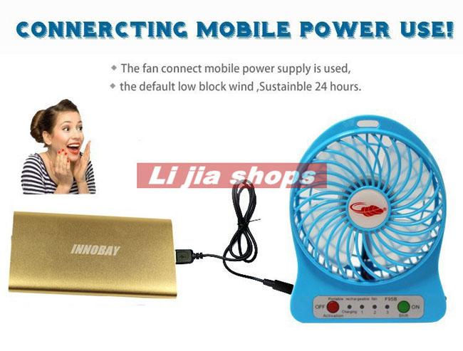 Cung cấp quạt tích điện usb mini giá rẻ