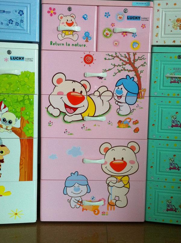 Bán sỉ tủ nhựa Việt Nhật Lucky 5 tầng 6 ngăn