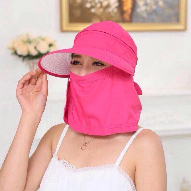 Mũ khẩu trang chống nắng mẫu số 3
