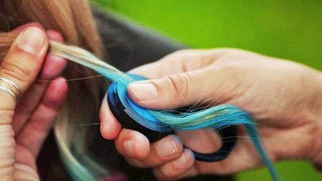 Bán sỉ bộ phấn nhuộm tóc 4 màu hot huez