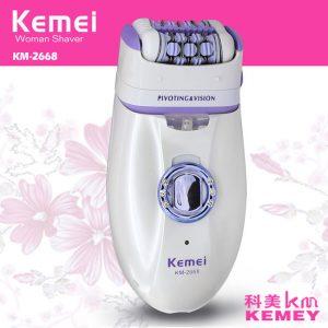 Máy triệt lông nách 2 in 1 Kemei KM-2668