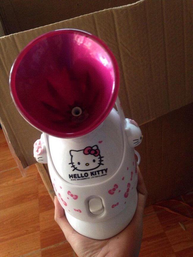 Bán buôn Máy xông hơi mặt Hello Kitty