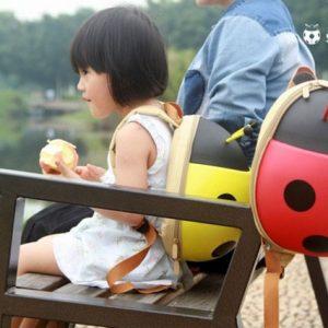 Ba lô hình con bọ đáng yêu cho bé