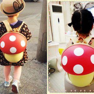 Ba lô hình nấm Mario cho bé yêu