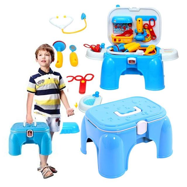 Bộ đồ chơi bác sĩ hình chiếc ghế độc đáo