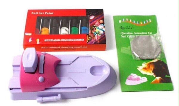 Dụng cụ in móng tay Nail Art Paint
