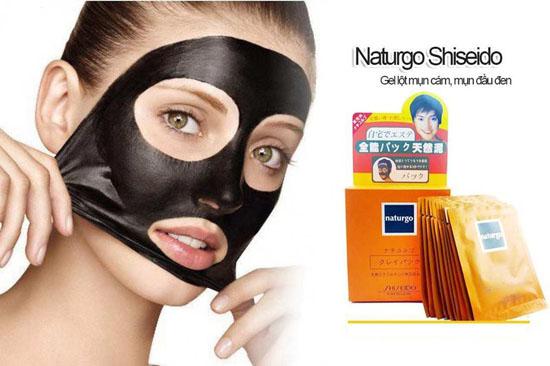 mặt nạ bùn lột mụn Naturgo Shiseido giá rẻ